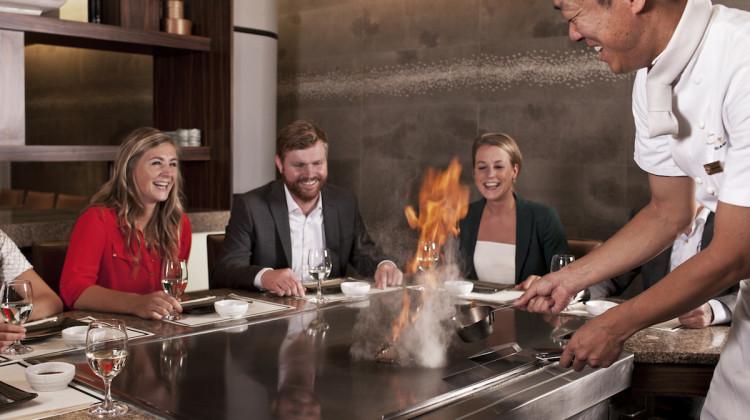 Teppanyaki Restaurant Sazanka - Guests