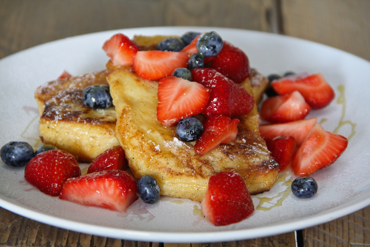 Challah French Toast - Amsterdam Flavours