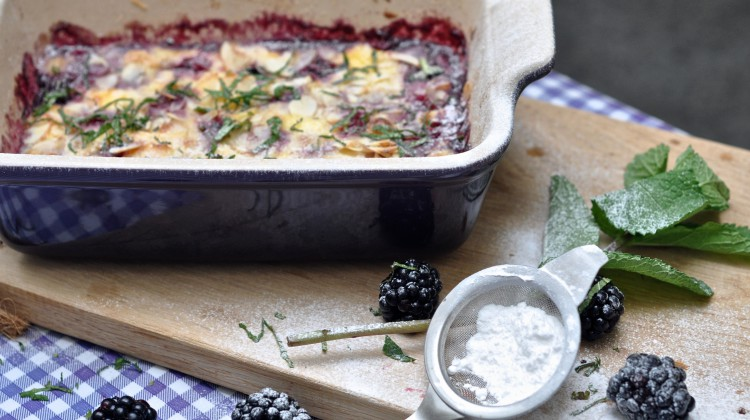 Blackberries from the oven