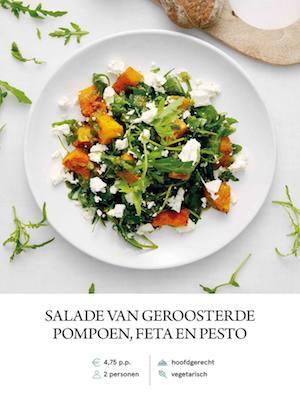 Pumpkin and Pesto Salad