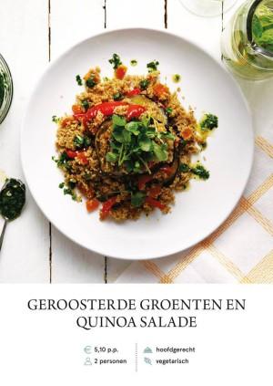 Roasted veg and quinoa salad