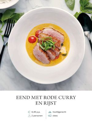 Duck with Red Curry