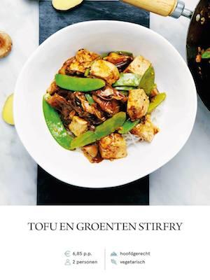 Tofu & veg stirfry