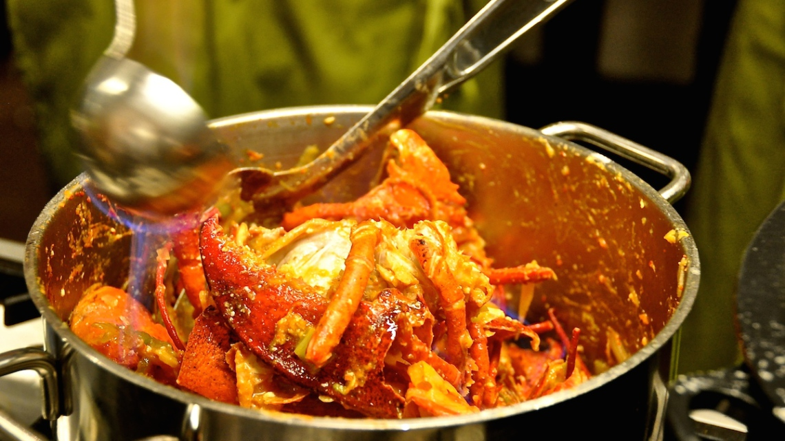 flambee shelves lobster