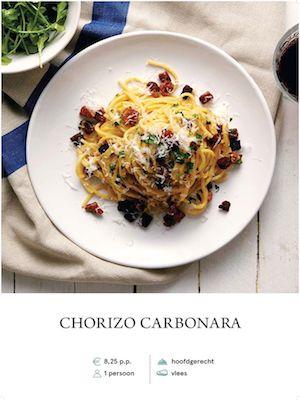 Chorizo Carbonara
