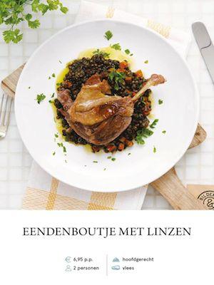 Confit duck leg with lentils