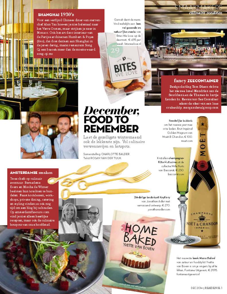 Residence Magazine December