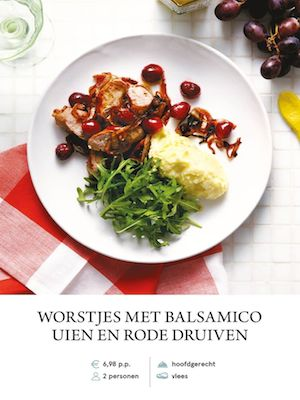 Sausages with Balsamic Onions