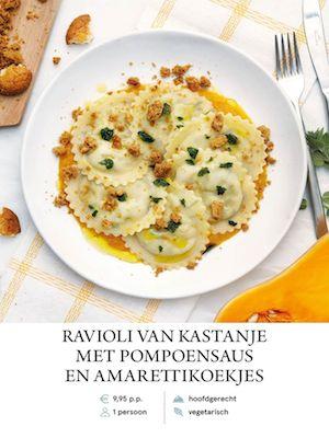 Chestnut Ravioli