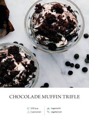 Chocolate Muffin Trifle