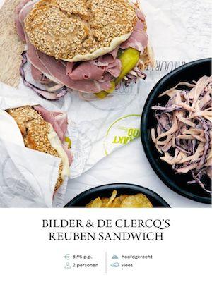 B&DC's Reuben Sandwich