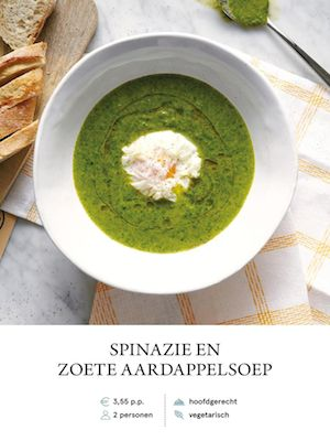 Spinach and Sweet Potato Soup