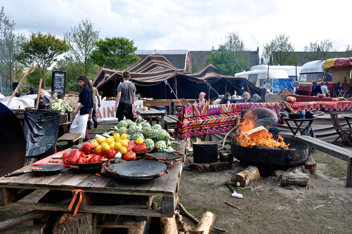 De Rollende Keukens : Het weekend van de rollende keukens amsterdam flavours