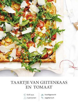Tomato & Goats Cheese Tart