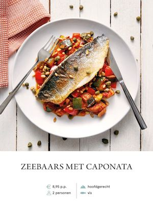 Sea Bass with Caponata