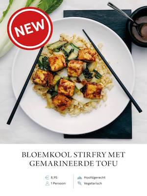 Cauliflower stirfry with Tofu