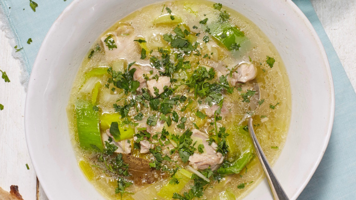 Chicken Soup end