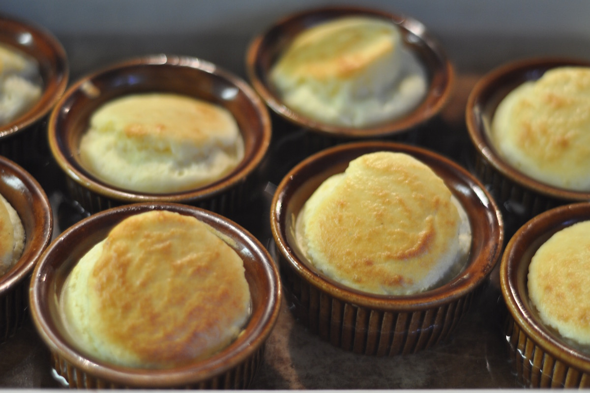 Double-baked goat cheese Souffle - Amsterdam Flavours